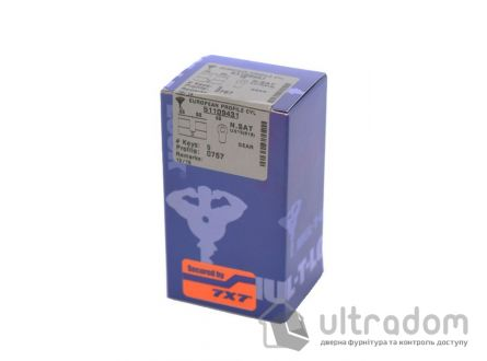 Цилиндр дверной Mul-T-Lock 7x7 кл-кл., 81 мм