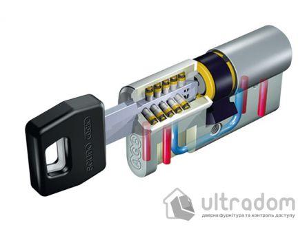 Цилиндр дверной AGB SCUDO DCK ключ-вороток 80 мм