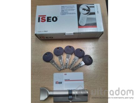 Цилиндр дверной ISEO R7 ключ - вороток, 100 мм