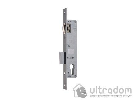 Корпус замка с роликом SIBA 10055-25 для алюминиевой двери.