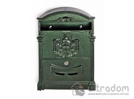 Декоративный почтовый ящик Amig m.4, цвет - зелёный