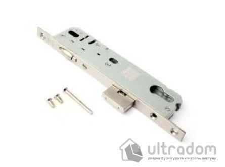 Корпус замка с роликом SIBA 10092/PR-35 для металлопластиковой двери.