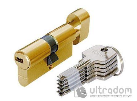 Цилиндр Abus KD6  ключ-вороток 120  мм латунь