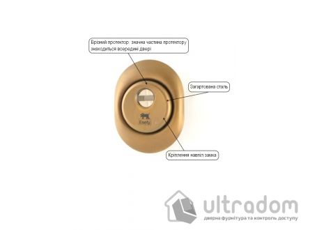 Протектор защитный ESETY by Mul-T-Lock A615 3 класс 23,5мм