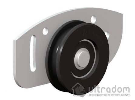 Набор роликов Valcomp ARES 2 для шкафа-купе, 1 дверь.