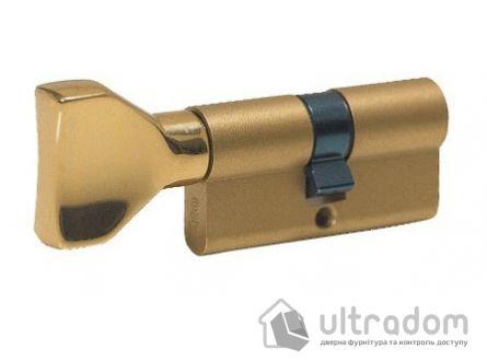 Цилиндр дверной ISEO F5 ключ-вороток, 80 мм