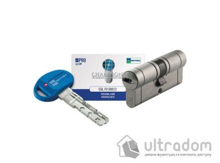 Цилиндр дверной MOTTURA Champions PRO ключ-ключ 97 мм