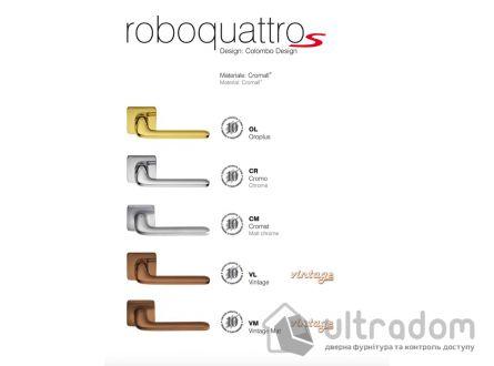Дверная ручка COLOMBO RoboquattroS ID 51 хром