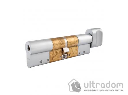 Дверной цилиндр ABLOY Novel ключ-вороток, 124мм