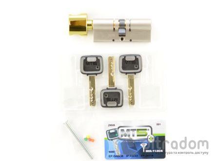 Цилиндр дверной Mul-T-Lock MT5+ ключ-вороток., 66 мм