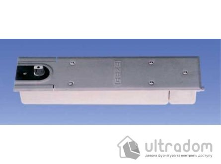 Доводчик напольный  Geze TS 550 NV EN3-6, дверь до 120 кг c фиксацией.
