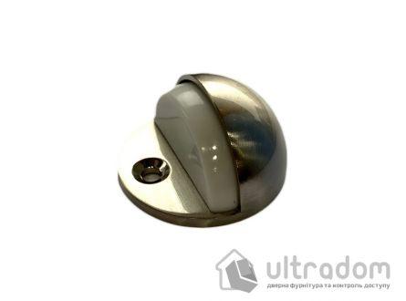 Упор дверной  полусфера D2705 матовый никель