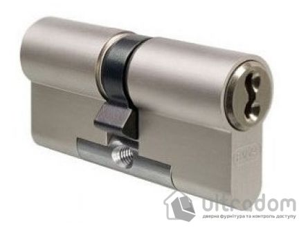 Цилиндр дверной EVVA 3 KS DZ кл-кл., никель 102 мм