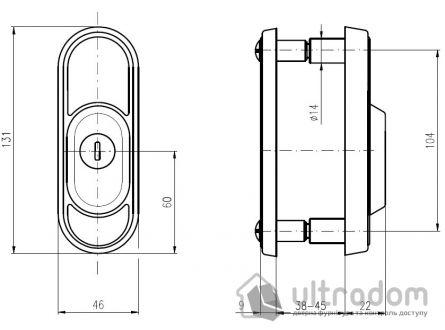 Протектор ROSTEX Decor 3 класс 22 мм никель матовый