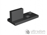 image 5 of Комплект фурнитуры раздвижной системы Mantion THOR в стиле LOFT, матовая чёрная
