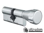 image 1 of Цилиндр дверной EVVA 4KS ключ-вороток, 82 мм