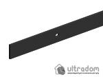 image 4 of Комплект фурнитуры раздвижной системы Mantion THOR в стиле LOFT, матовая чёрная