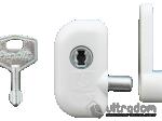 image 1 of Детский замок безопасности Pentilt, для поворотно-откидного окна, белый