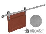 image 1 of Комплект фурнитуры раздвижной системы Mantion THOR в стиле LOFT, матовый серый