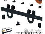 image 1 of Valcomp DESIGN LINE комплект раздвижной системы TEMIDA  в стиле LOFT