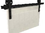 image 3 of Комплект подвесной раздвижной системы Valcomp IZYDA IZ20 в стиле LOFT (213-454)