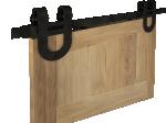image 3 of Комплект подвесной раздвижной системы Valcomp TEMIDA TM20 в стиле LOFT (213-453)