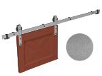 image 1 of Комплект фурнитуры раздвижной системы Mantion THOR в стиле LOFT, матовый серый (219-350)