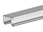 image 1 of Направляющая рельса Valcomp Horus для подвесной раздвижной системы шкафа - купе 1,5 м (214-139)