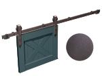 """image 2 of Направляющая рельса 2400 мм Mantion ROC Design в стиле LOFT, коричневая бронза """"под ржавчину"""" (217-615)"""