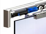 image 2 of Комплект роликов Valcomp Herkules GLASS для стеклянной подвесной раздвижной системы до 100 кг (219-313)