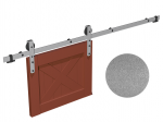 image 4 of Направляющая рельса 2400 мм Mantion ROC Design в стиле LOFT, матовая серая (217-611)