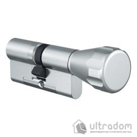 Цилиндр дверной EVVA 4KS ключ-вороток, 87 мм image