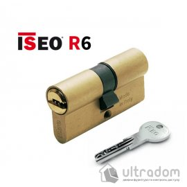 Цилиндр дверной ISEO R6 ключ-ключ, 100 мм image