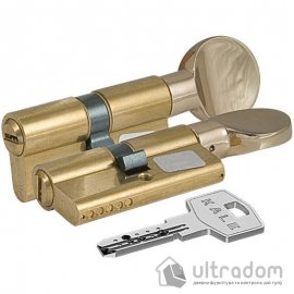 Цилиндр дверной KALE 164 SM ключ-тумблер, 71 мм.,  латунь image