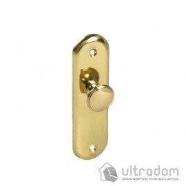 AMIG Латунная дверная ручка-скоба мод.24 125*34 мм image