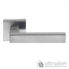 Дверная ручка COLOMBO Ellesse матовый хром (роз 6мм) image