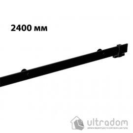 Направляющая рельса 2400 мм Mantion ROC Design в стиле LOFT, матовая чёрная (217-603) image