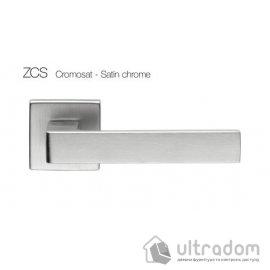 Дверная ручка DND QUATTRO 02-Z - матовый хром ZCS image