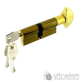 Цилиндр дверной с простым ключом AGB SCUDO 600 ключ-вороток 70 мм image
