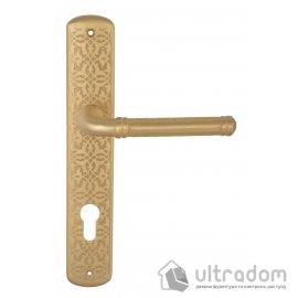 Ручка дверная на планке Doganlar TOPKAPI, матовая латунь image