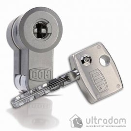 Цилиндр дверной DOM Diamond ключ-ключ 144 мм image