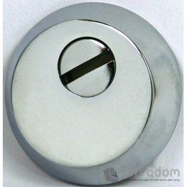 Броненакладка для цилиндра SIBA S400 CP, хром полированный  image