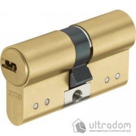 Цилиндр Abus D15 ключ-ключ 90 мм латунь image