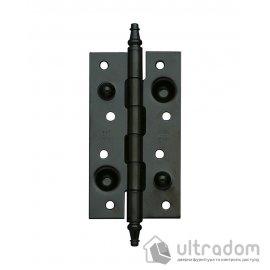 Дверные петли усиленные Amig 561 - 150 мм., цвет - черный матовый image