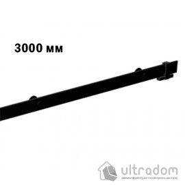 Направляющая рельса 3000 мм Mantion ROC Design в стиле LOFT, матовая чёрная (217-620) image