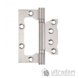 Петли дверные накладные SIBA 100 мм, цвет - матовый никель image