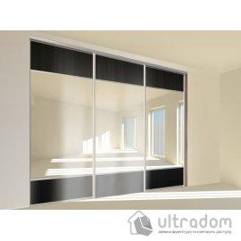 Комплект фурнитуры для шкафа-купе L2700*H2700 Valcomp ARES 3, 3 двери. image