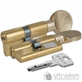 Цилиндр дверной KALE 164  BM ключ-тумблер, 90 мм image