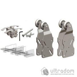 Комплект роликов Valcomp HORUS HR02 для подвесной раздвижной системы шкафа-купе для 2-ух дверей до 45 кг (219-004) image
