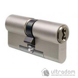 Цилиндр дверной EVVA 3 KS DZ кл-кл., никель 72 мм image